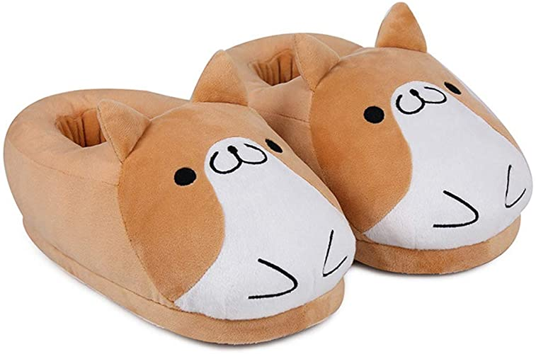 Cuddly slippers