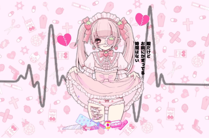 Kawaii caution