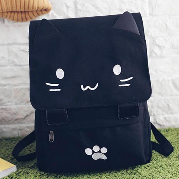Kawaii style backpack material