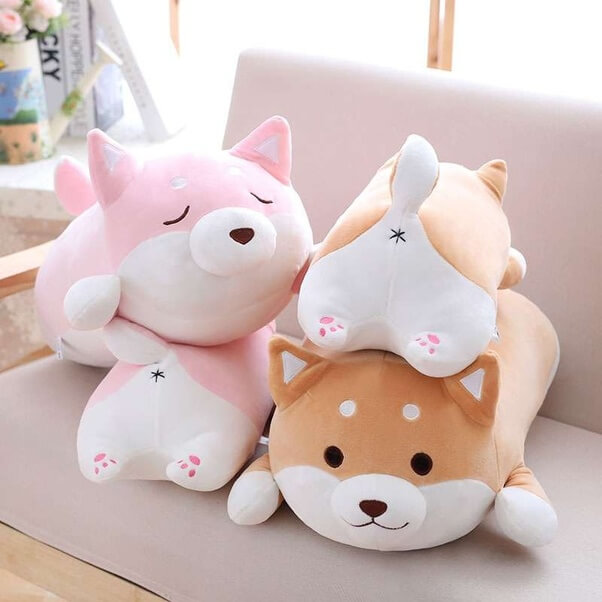 Plushies for decoration
