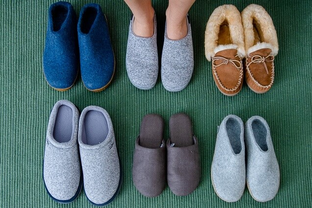 right type of slipper