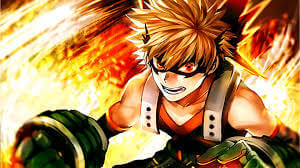 Bakugo My Hero Academia Cosplay