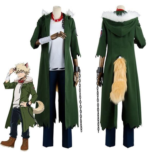 Katsuki Bakugo My Hero Academia Cosplay Costume