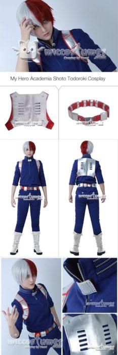 Shoto Todoroki My Hero Academia Cosplay Costume