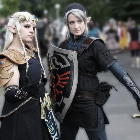 Zelda Dark Link Cosplay