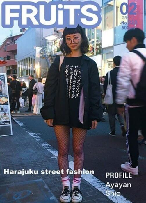 maturity to the Harajuku fashion.